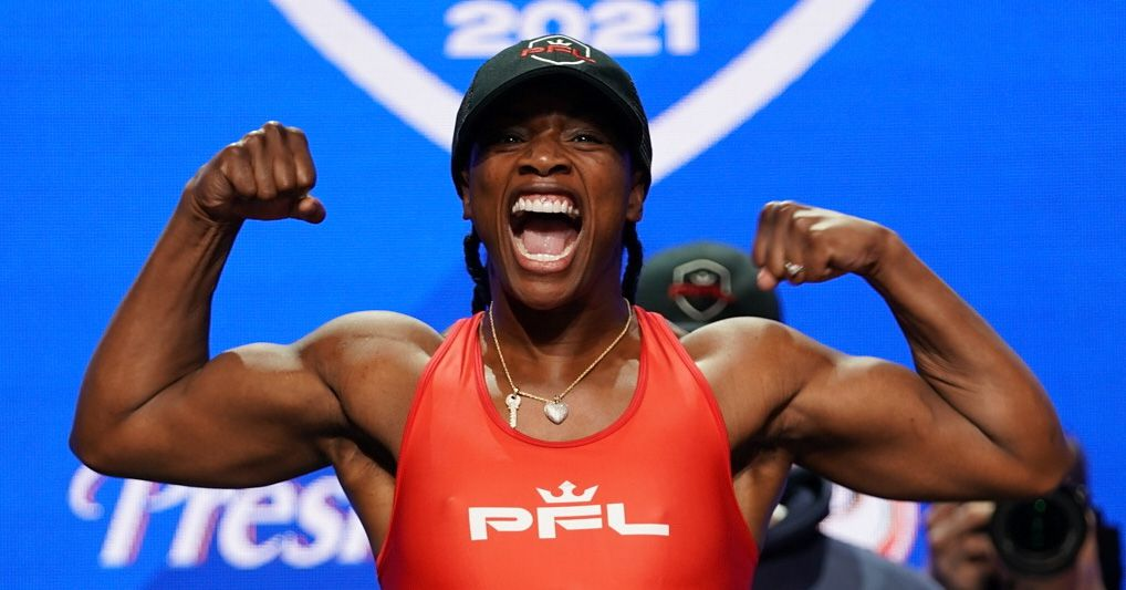 Claressa Shields confident she could already beat lightweights competing in PFL season