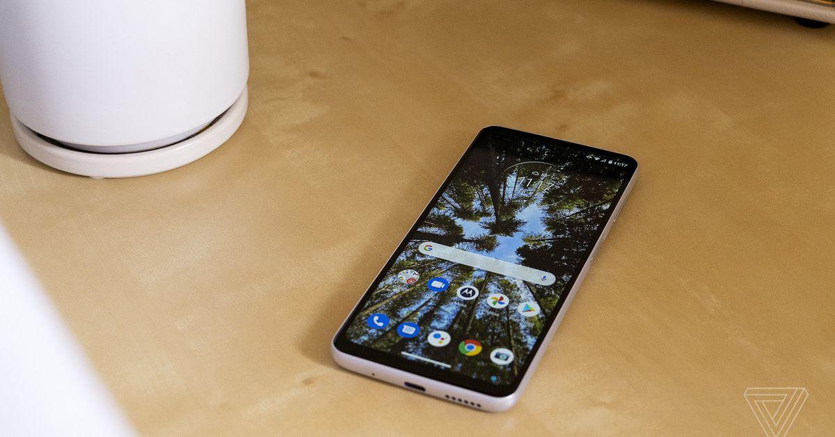 The 2021 Motorola G Moto Power offers battery life for days