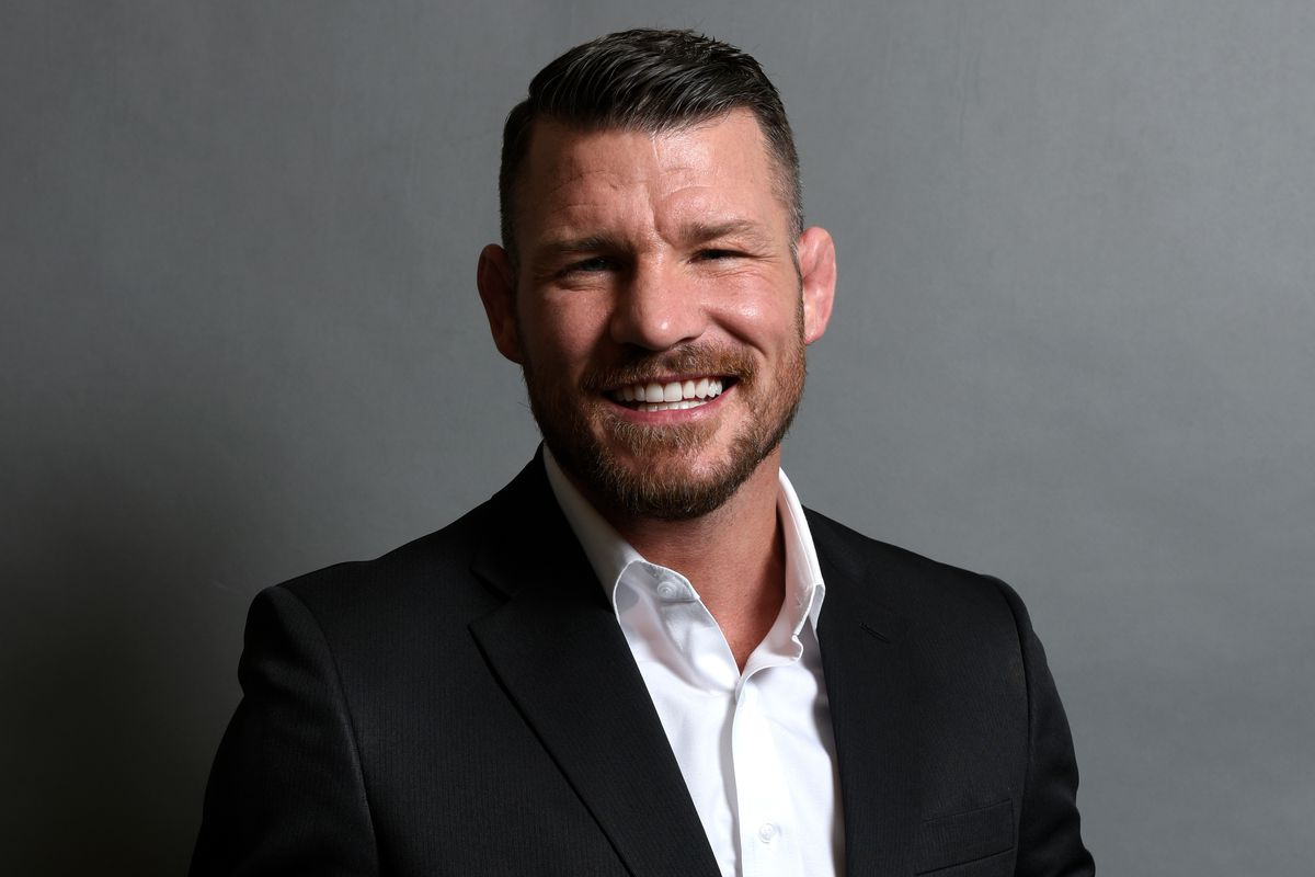 Michael Bisping in Las Vegas, NV just prior to being inducted to the UFC Hall of Fame