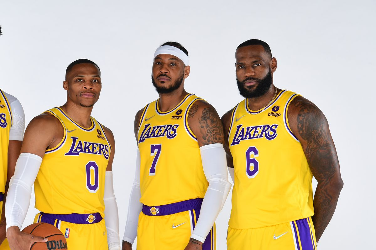 2021-22 Los Angeles Lakers Media Day