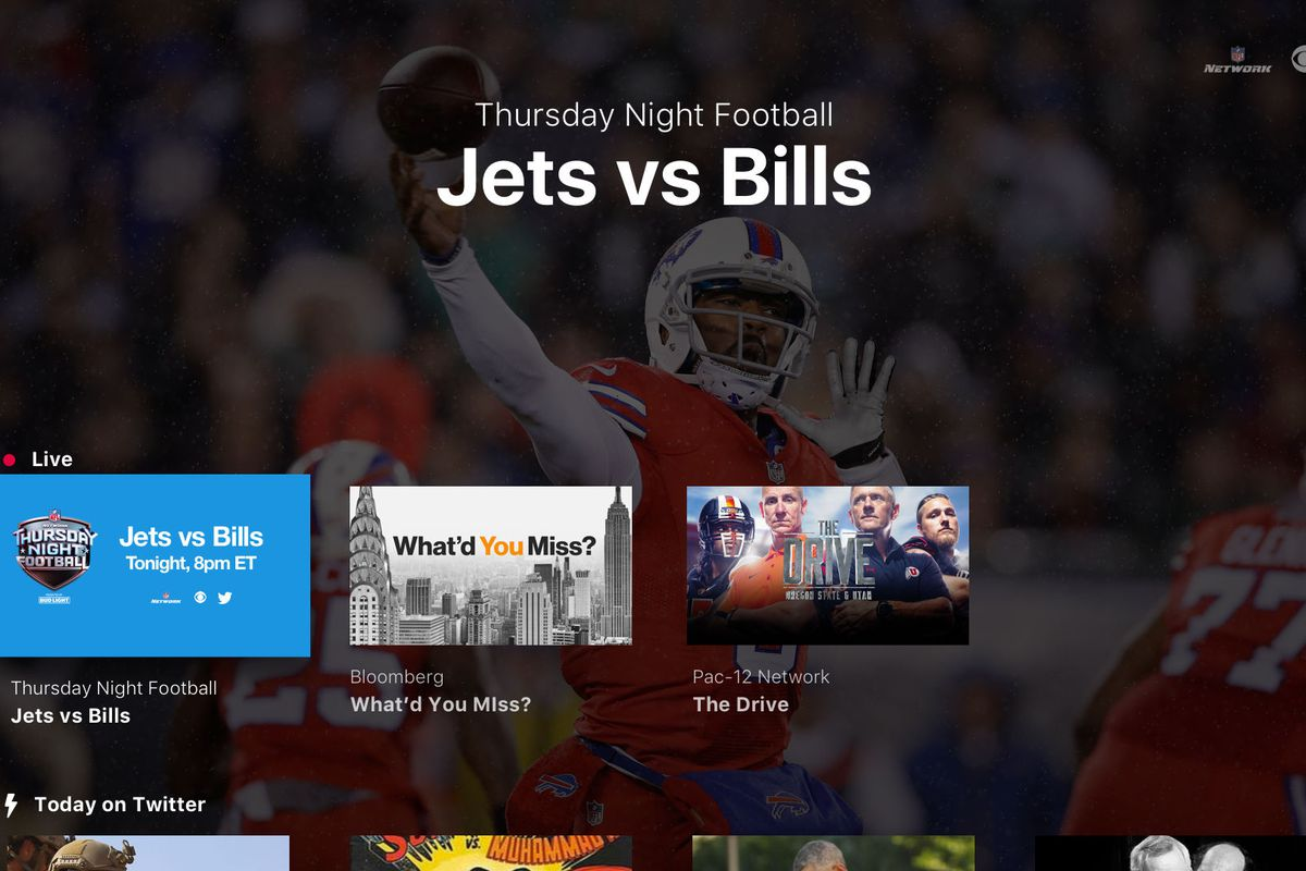 Twitter app brings free NFL games to Apple TV, Amazon Fire