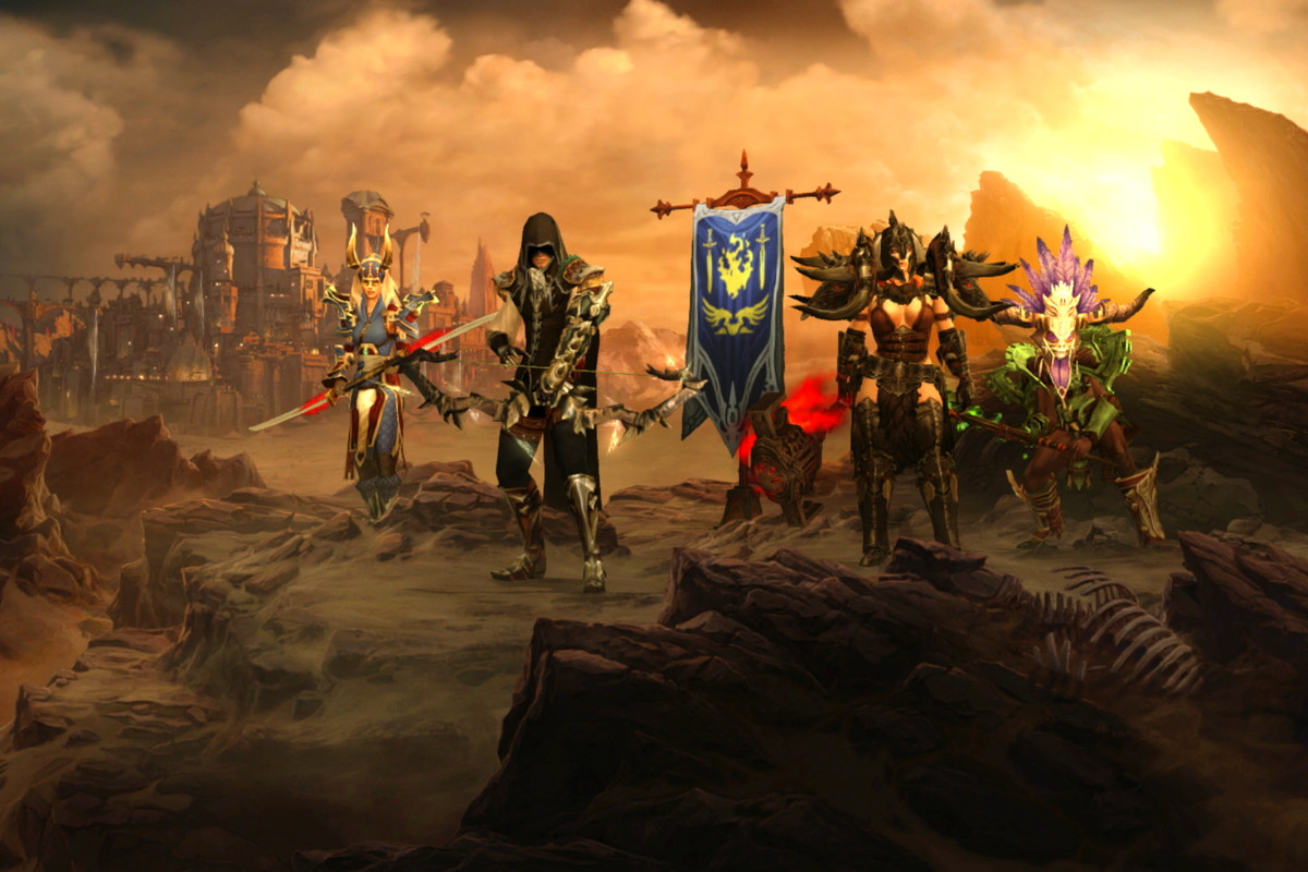 Image result for diablo 3 nintendo classes