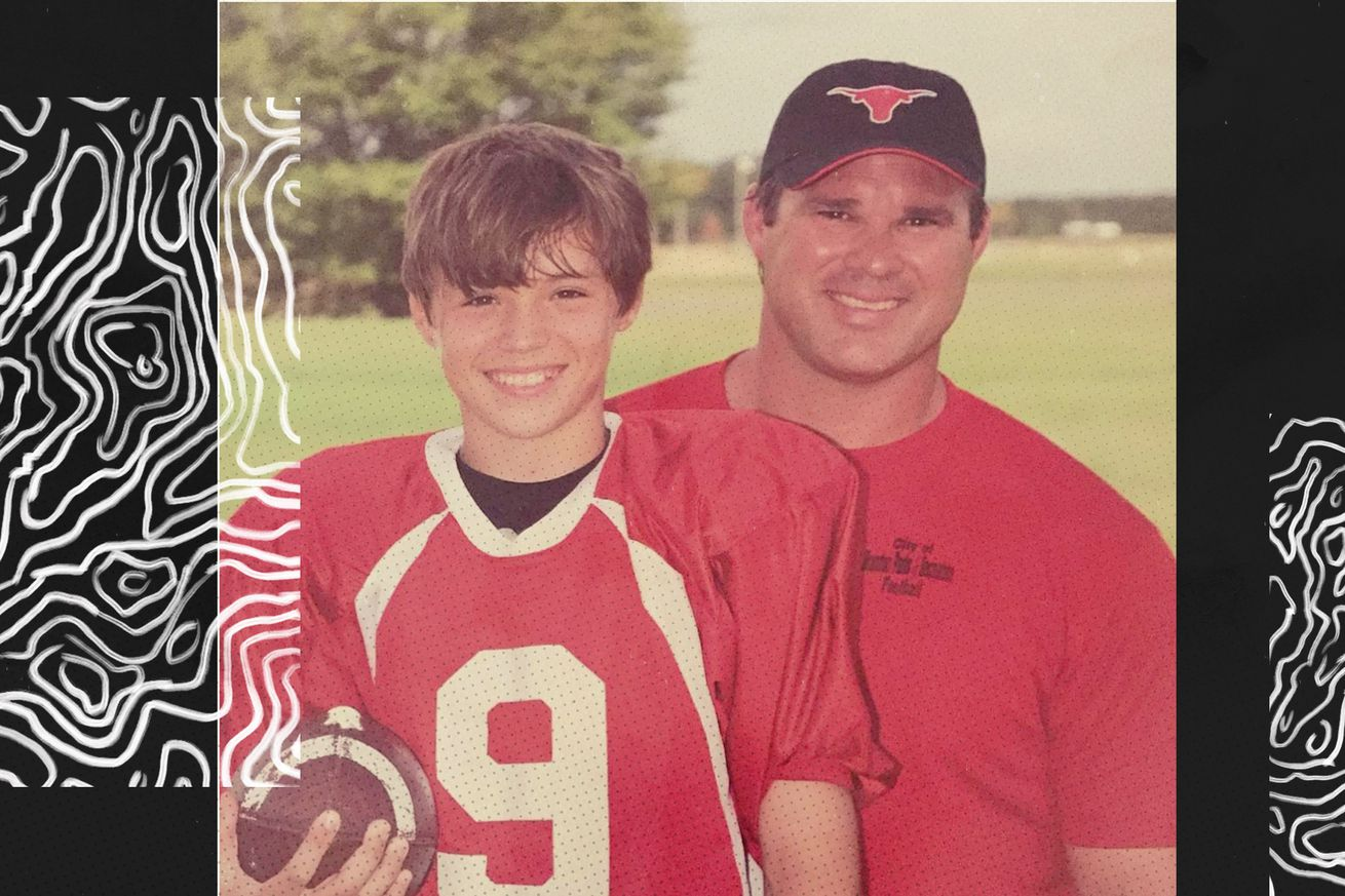young Gardner Minshew and dad.0 - The legend of Gardner Minshew, explained by his dad