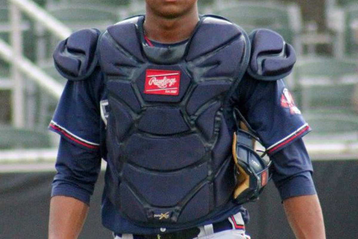 Just 20 years old, Christian Bethancourt is one of the most promising players in the Atlanta farm system.