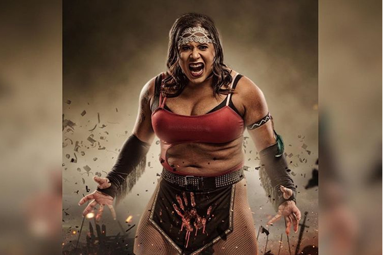 Trans wrestler Nyla Rose makes history tonight at AEW's Double or Nothing