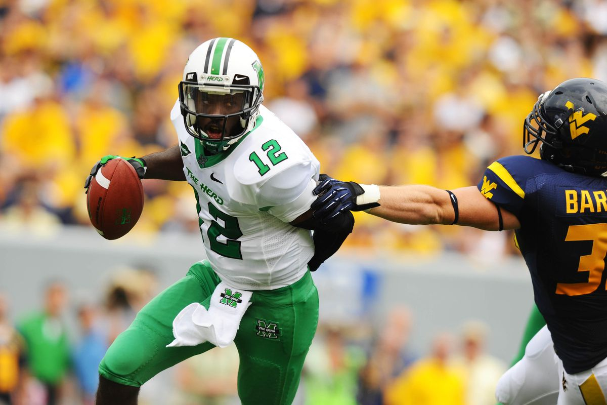 Who is going to slow Marshall's Rakeem Cato down?