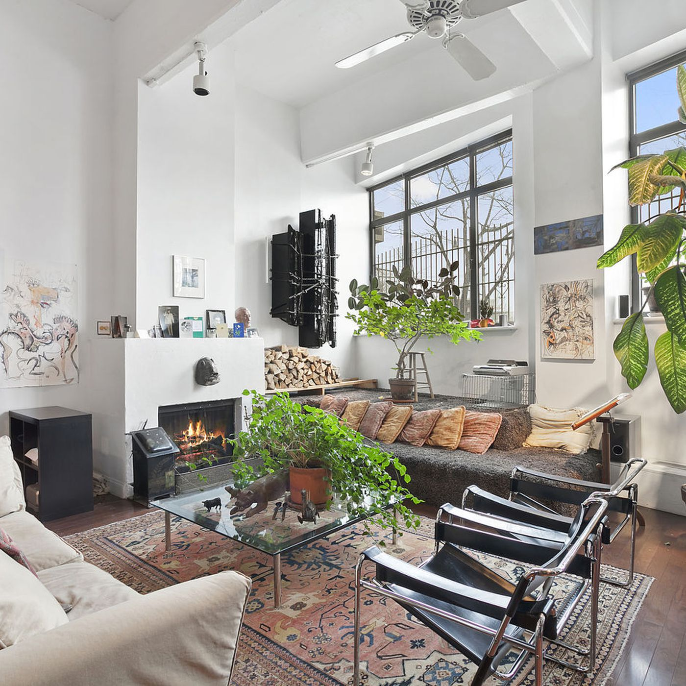 West Village Artist Loft Owned By Francis Hines Asks 2 5m Curbed Ny