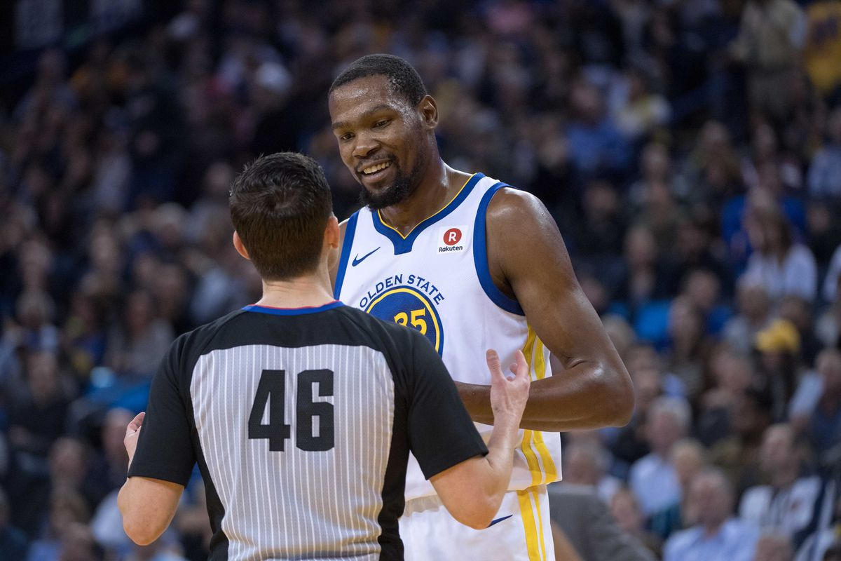 dbe69fc1fe4 Warriors  Kevin Durant thinks NBA is interfering with players and ...