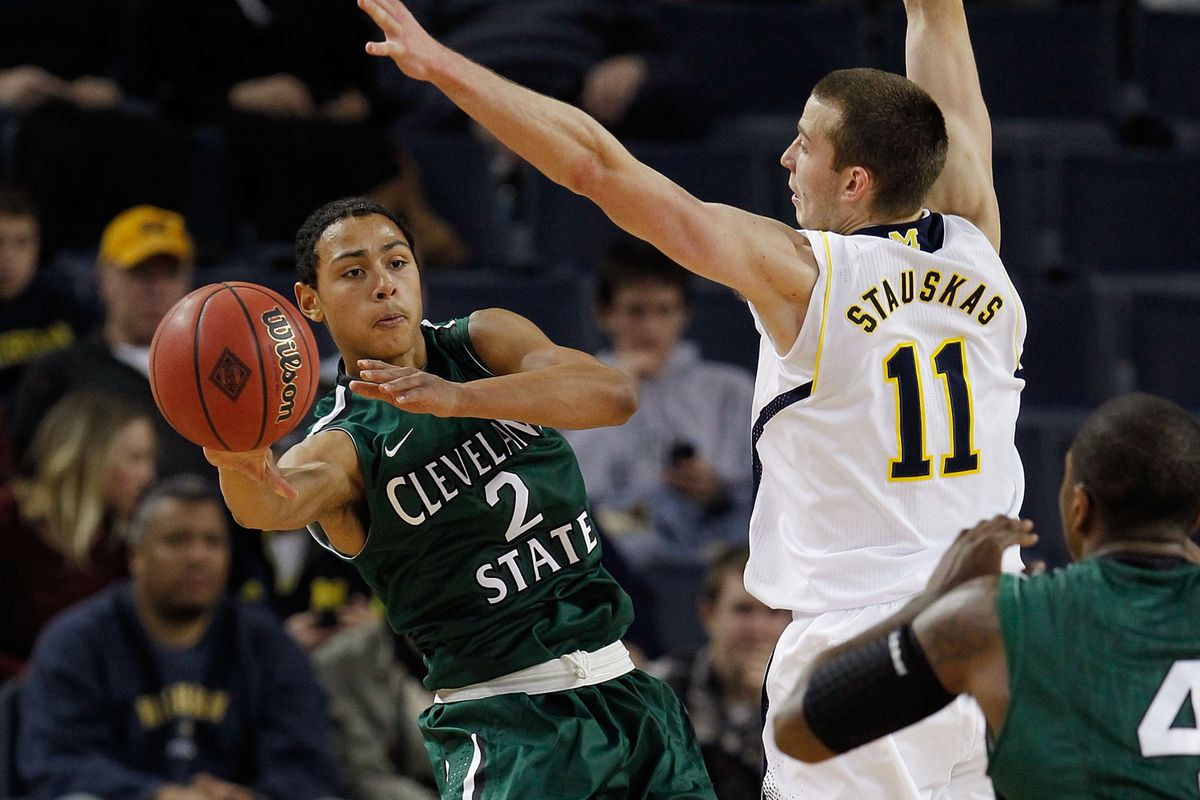 Bryn Forbes led the game with 25 points.