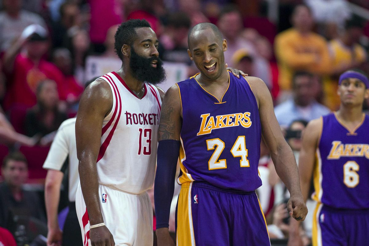 Kobe Bryant James Harden Agree Rockets Can T Win Championship With