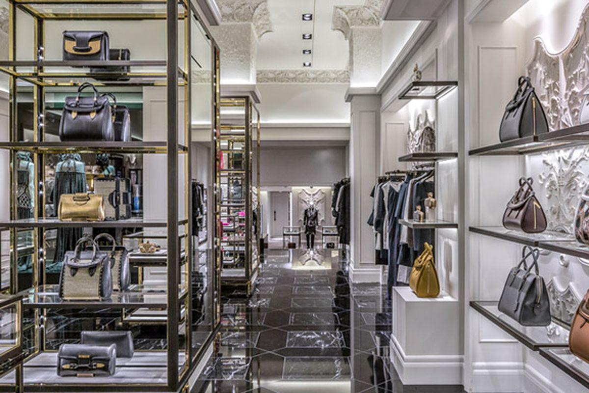 "The Madison Avenue boutique, via <a href=""http://www.alexandermcqueen.com/experience/en/alexandermcqueen/store/usa/new-york/new-york-usa-flagship/"">Alexander McQueen</a>"