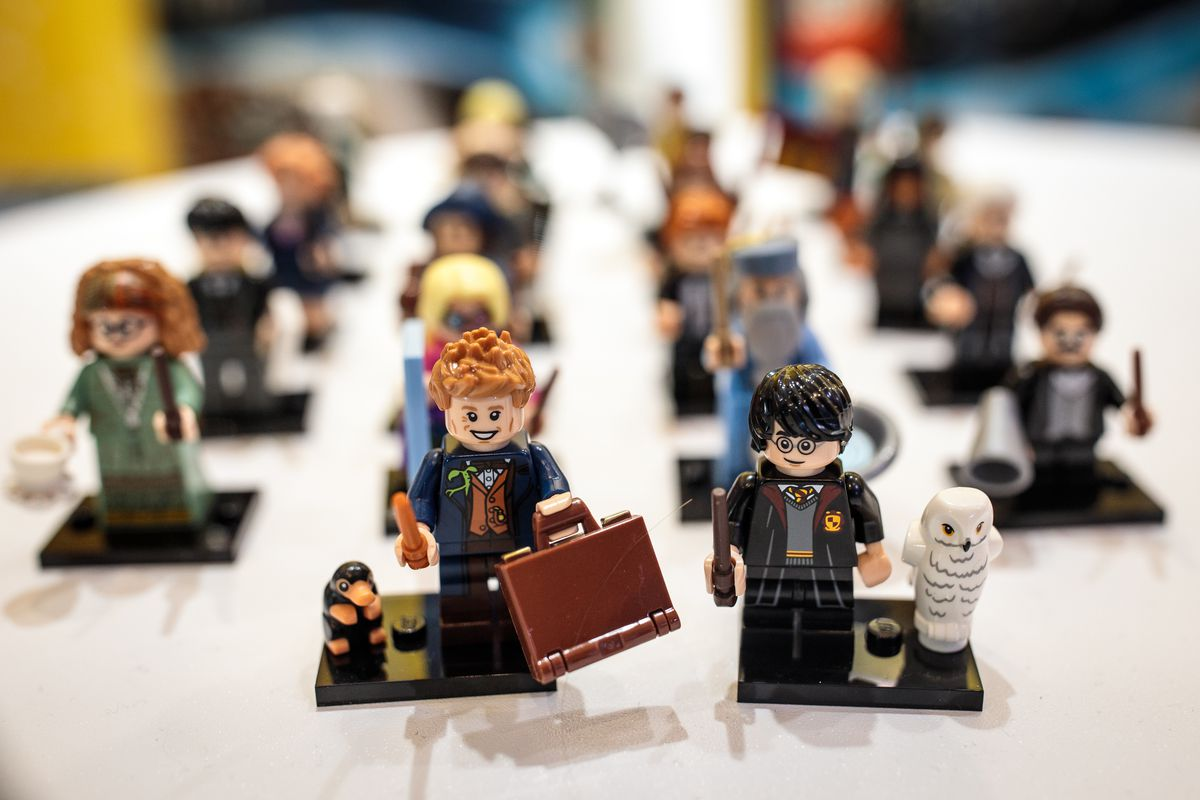 Harry Potter Lego Minifigures.