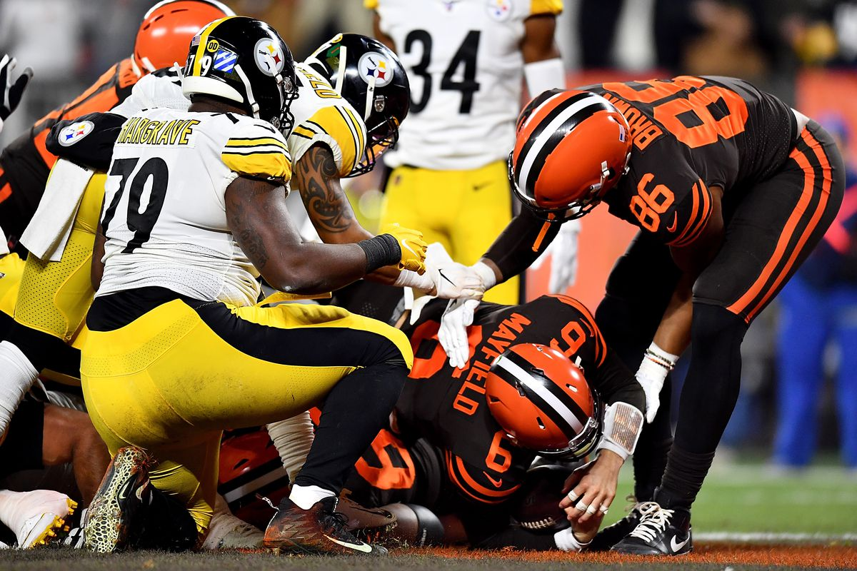Pittsburgh Steelers Vs Cleveland Browns 2nd Quarter Game