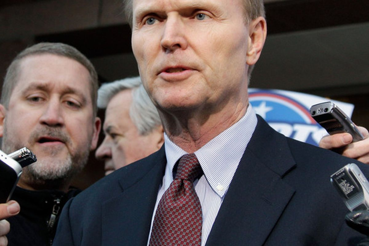 New York Giants co-owner <strong>John Mara</strong>.  (Photo by Rob Carr/Getty Images)