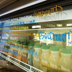 Peek Inside The Fresh New Juicebox Now Serving Eater
