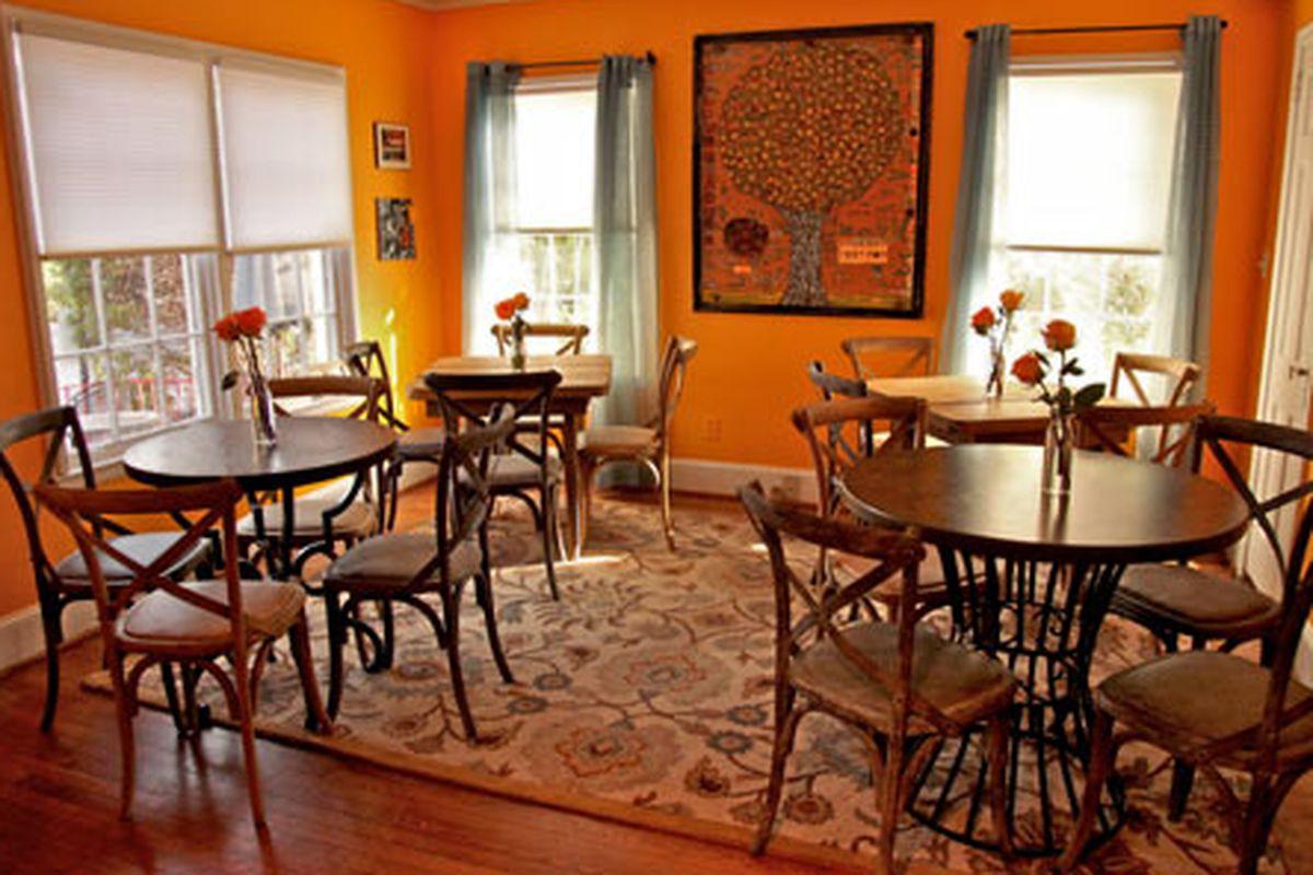 Cafe Jonah. Photo courtesy of Sara Hanna Photography.