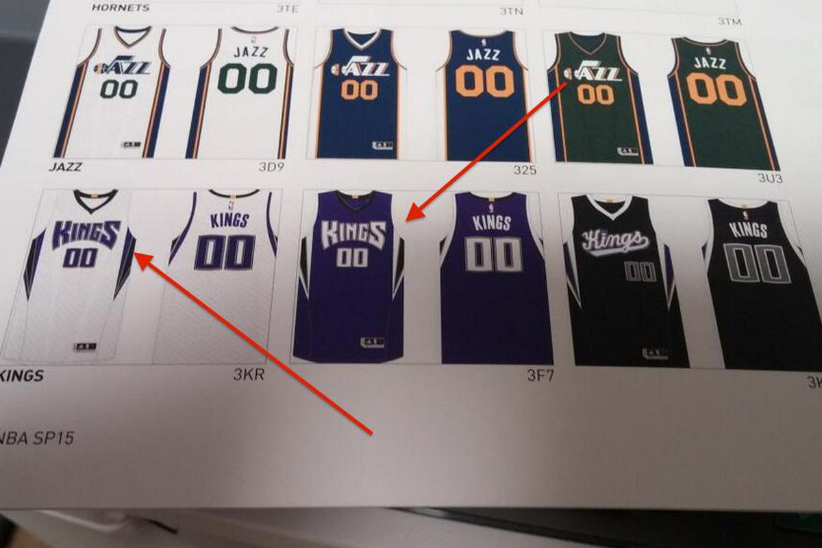 Will these be the Sacramento King's jersey's next season?