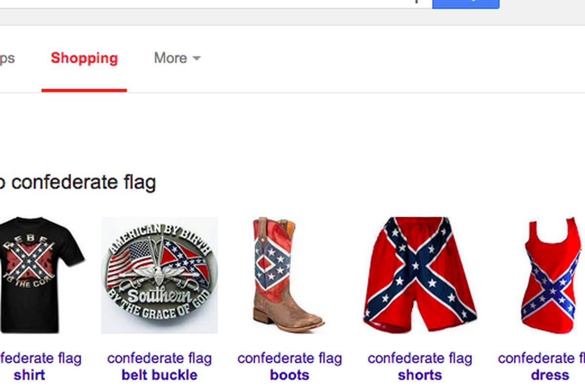 Google Shopping Will Yank Confederate Flags Following Amazon EBay