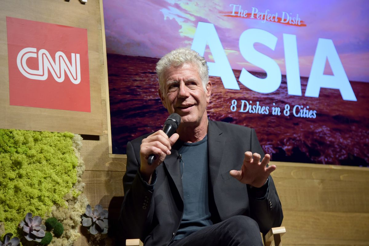 Anthony Bourdain on 'Changing Hearts and Minds' in Today's Political