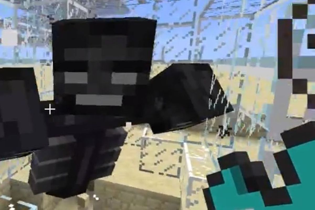 Minecraft Update Introduces The Poisonous Wither King Polygon