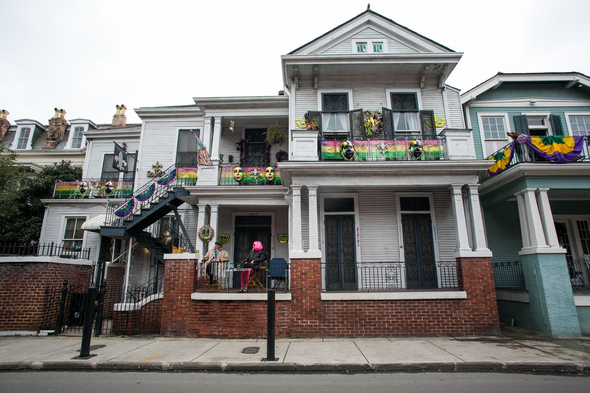 New Orleans Takes To The Streets To Celebrate Mardi Gras