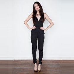 """<strong>Cameo</strong> Run To Me Jumpsuit, <a href=""""http://www.shopacrimony.com/products/cameo-run-to-me-jumpsuit"""">$181</a> at Acrimony"""