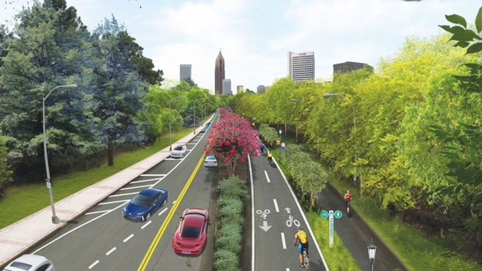Bike Lane Chicago >> Commuter: Damn you, Atlanta, for removing street lanes near Georgia Tech - Curbed Atlanta