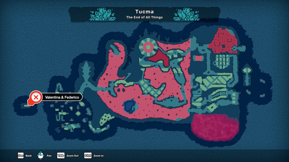 Temtem how to evolve Tuwai Cultist Hunt Crystal Shrine Valentino and Federico location map