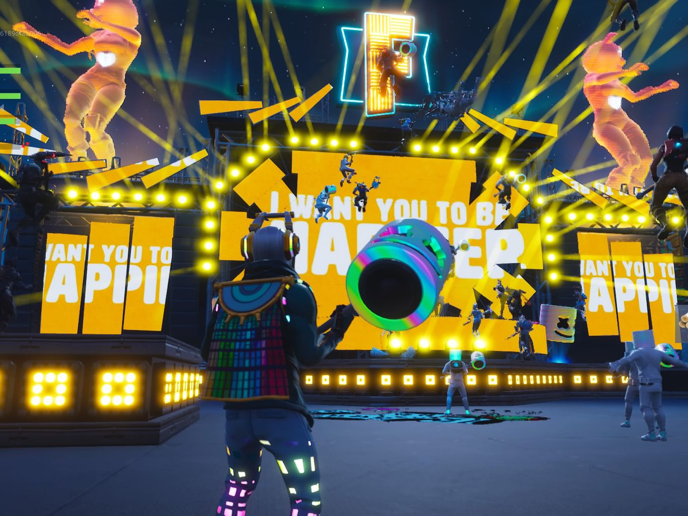 The Longest Fortnite Video Ever Fortnite S Marshmello Concert Was The Game S Biggest Event Ever The Verge