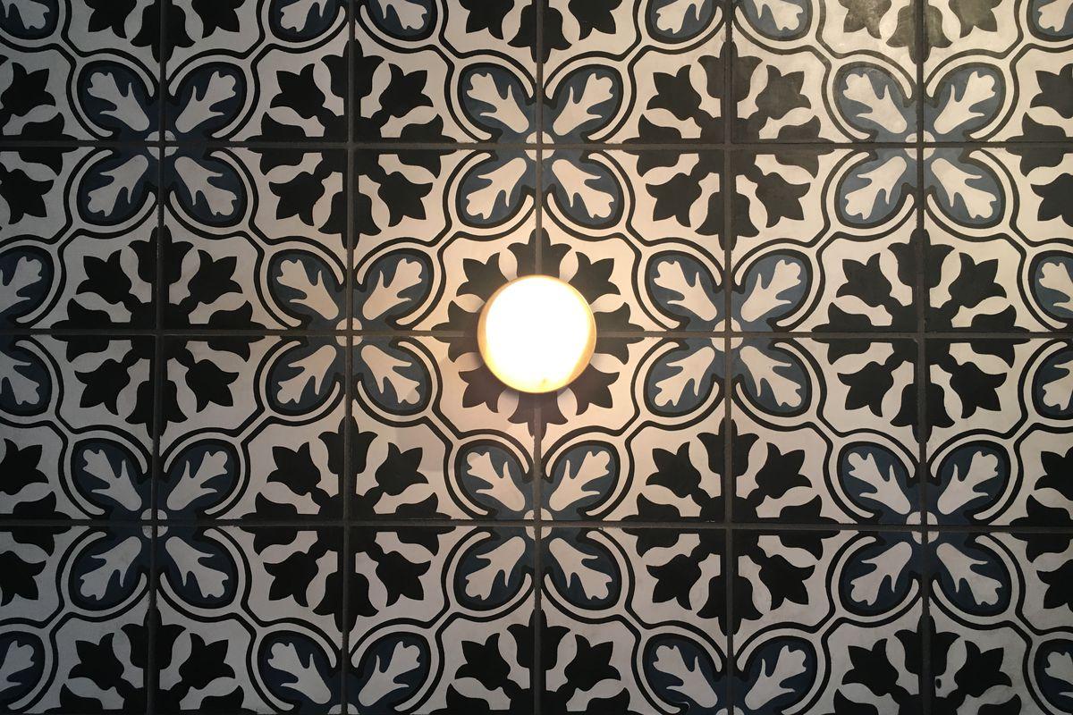 Perla's mosaic wall