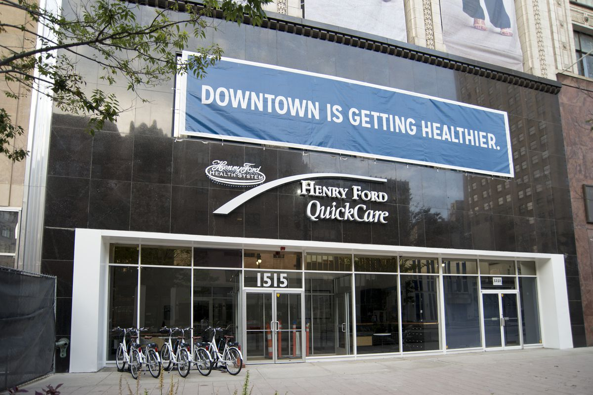 Henry Ford Opens Boutique Clinic in Old Grinnell Bros Space