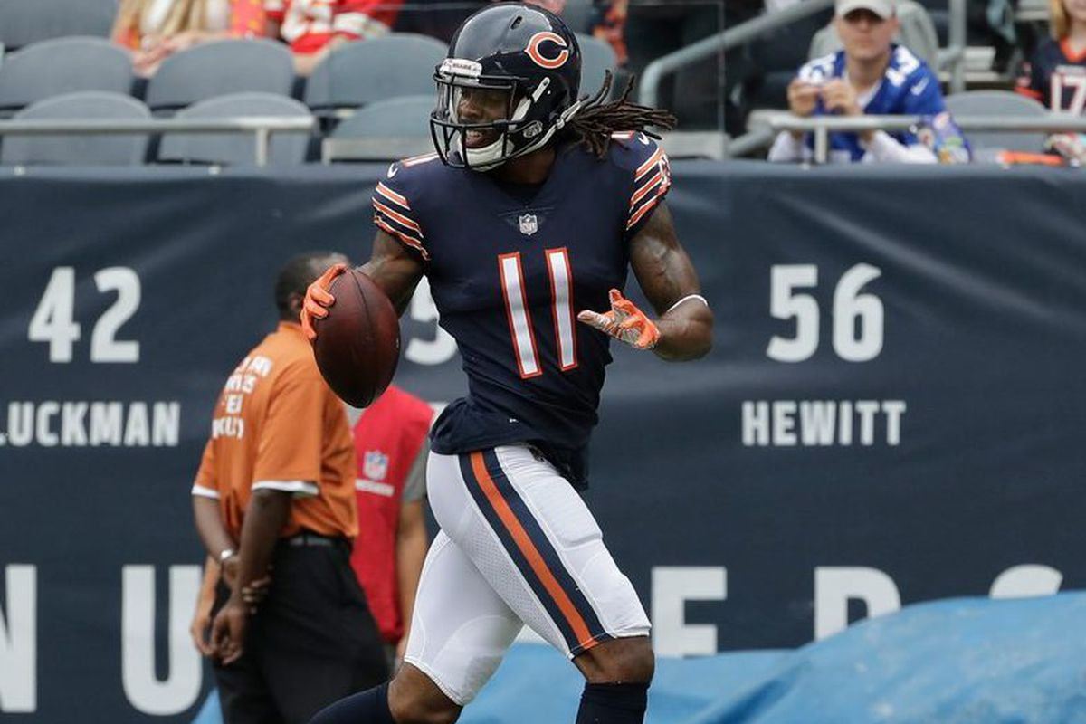6e73a718d27 Bears receiver Kevin White scored a touchdown against the Chiefs. | Nam Y.  Huh/AP