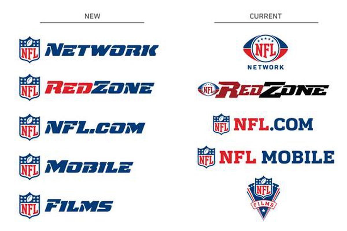 New NFL Logos