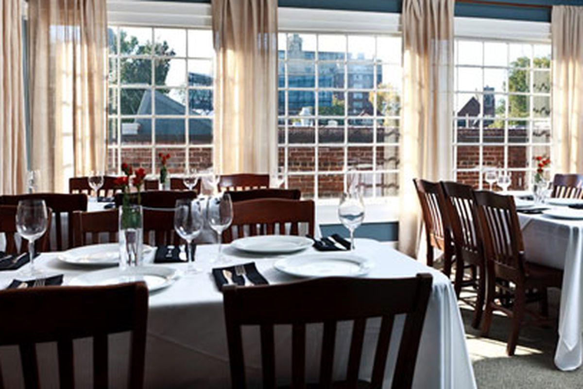 The private dining room at Atkins Park Tavern in Virginia-Highland. Photo courtesy of Facebook.