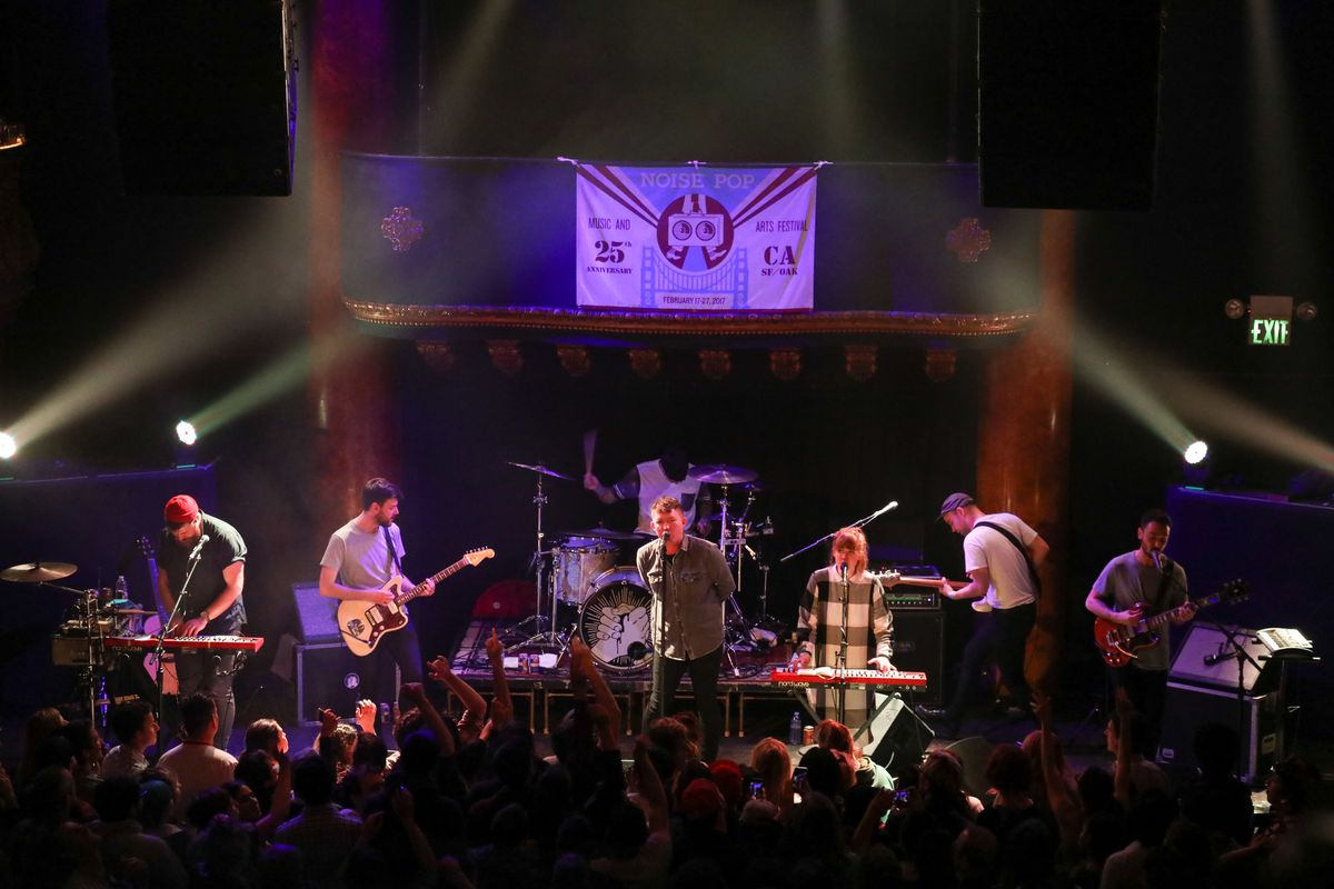 Noise Pop 25 Presents - Los Campesinos! Performs At Great American Music Hall