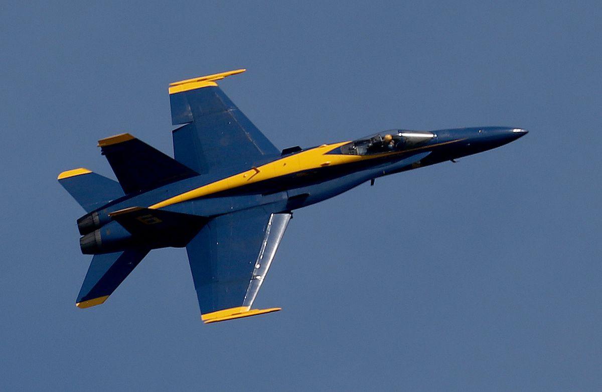 United States Navy Blue Angels Fleet Week
