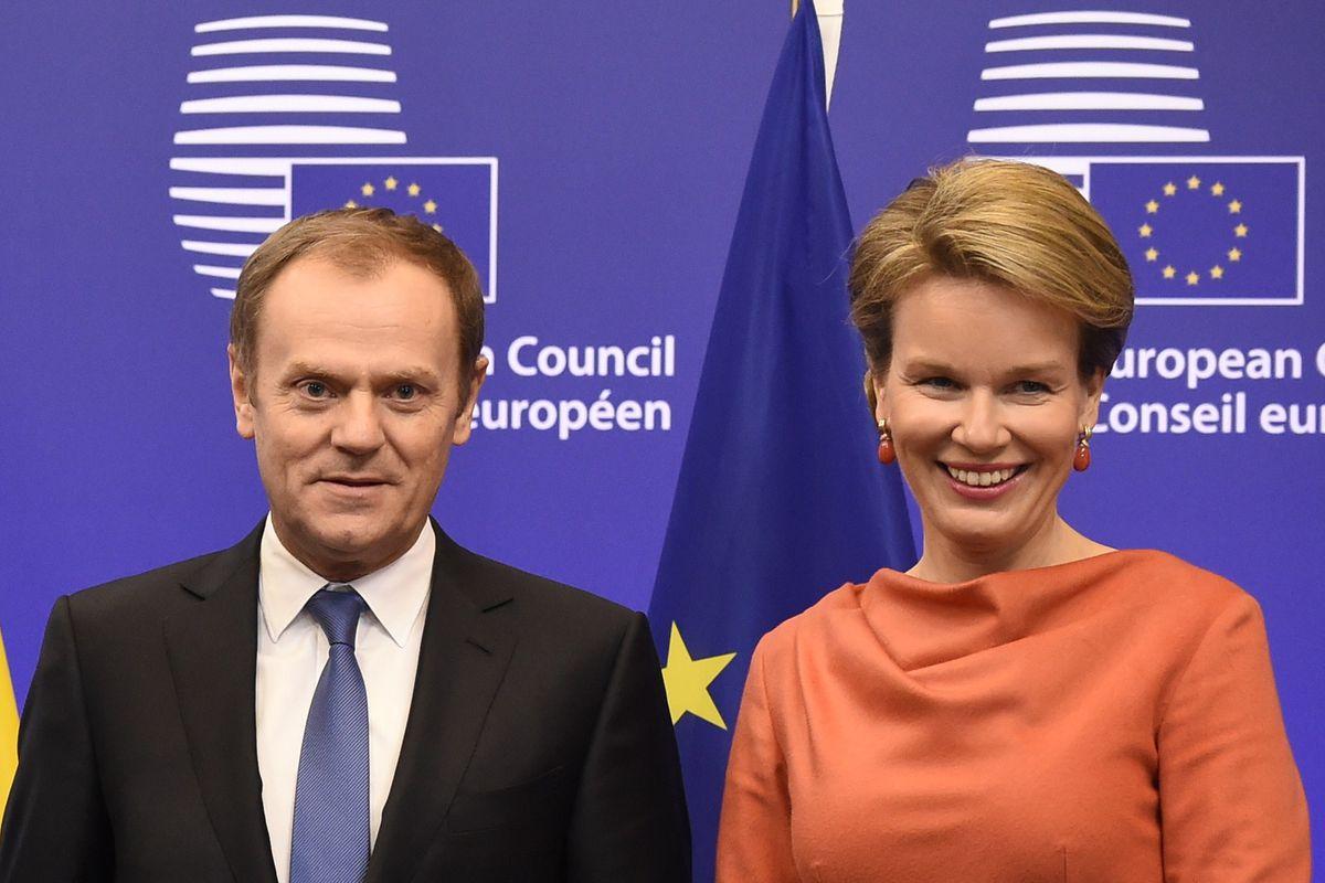 BELGIUM-POLITICS-EU-ROYALS