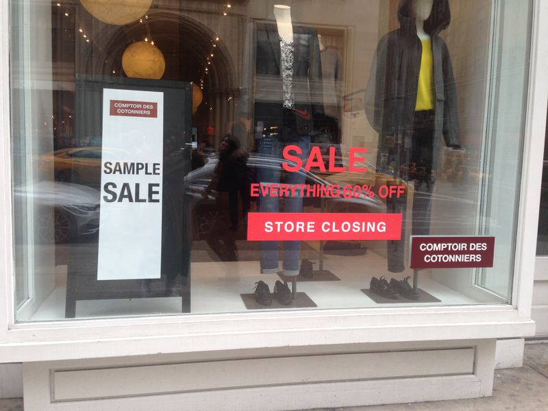 Comptoir des cotonniers is closing all of its stores racked ny - Boutiques comptoir des cotonniers ...