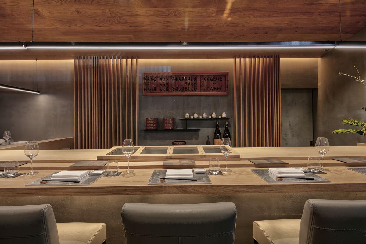 Sushi Omakase Restaurant Nakaji Opens