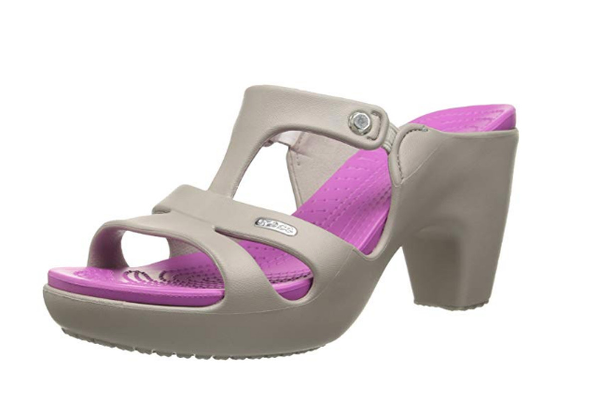 a3982edcb The Croc heels that launched a thousand tweets. Photo  Amazon
