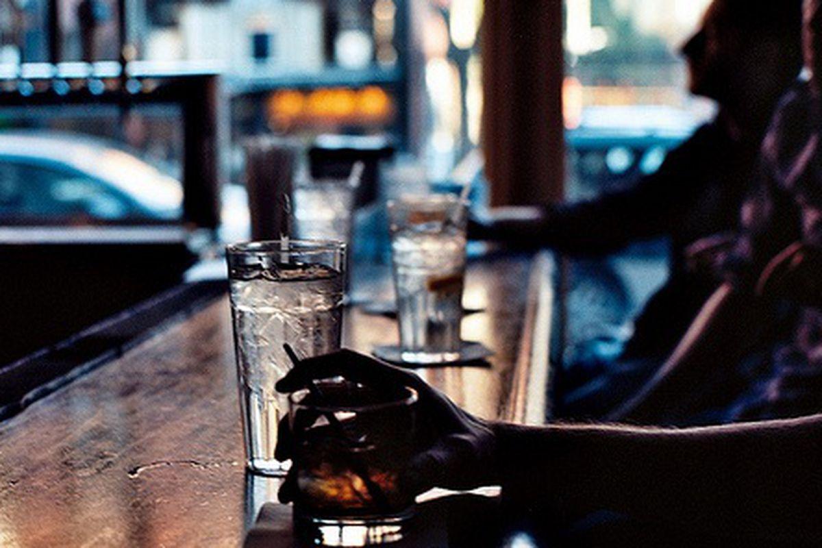 Bar at Wogie's, West Village