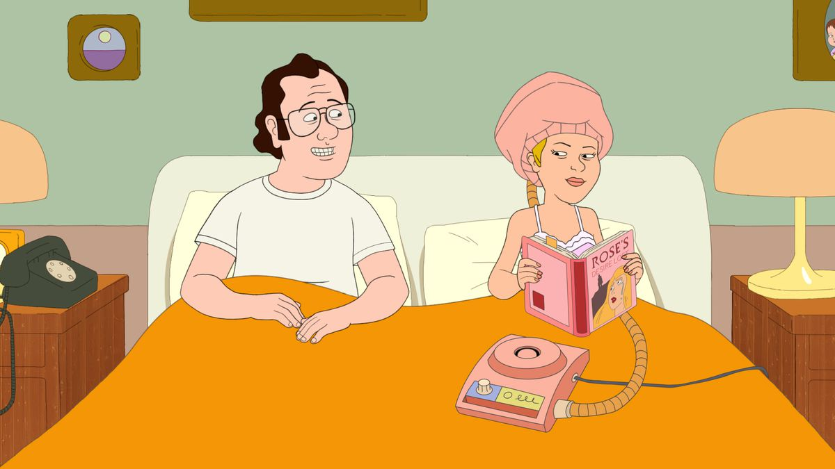 Frank and Sue Murphy in F Is for Family.
