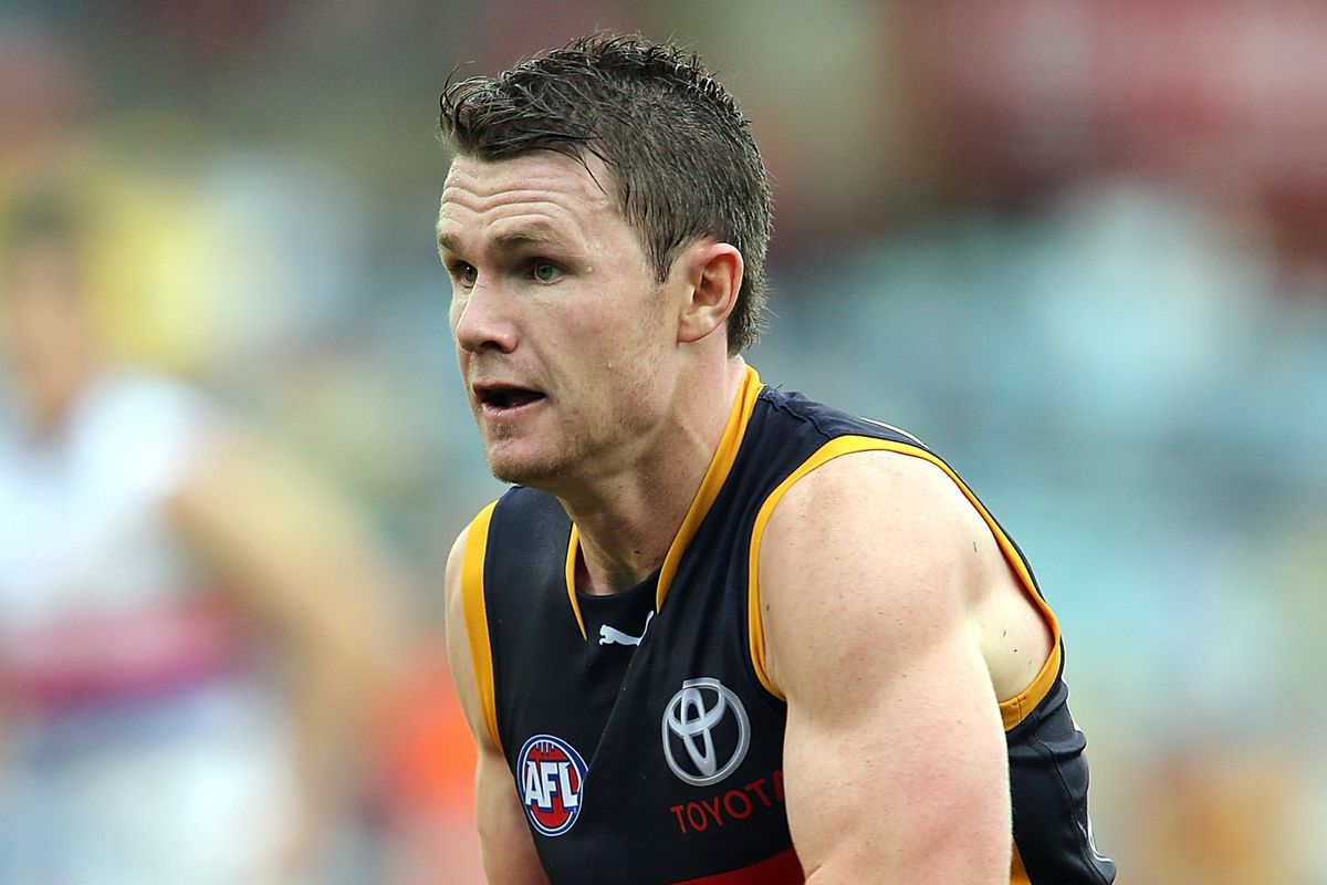 Patrick Dangerfield plays for the Adelaide Crows.
