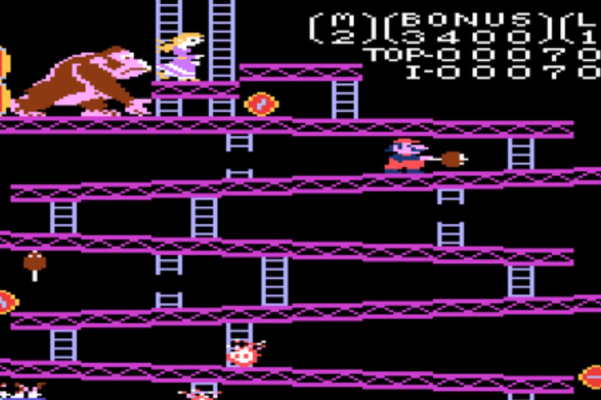 Donkey Kong Original Barrel