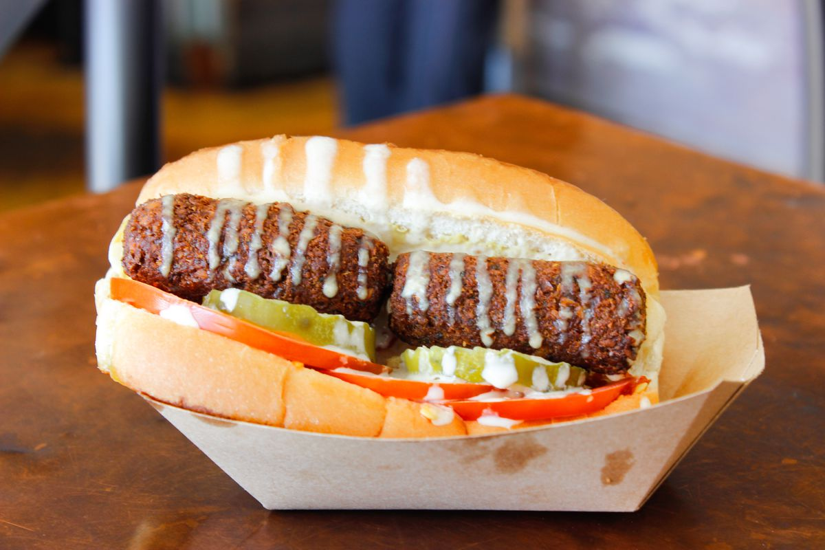 Whole Heart Provisions's falafel dog