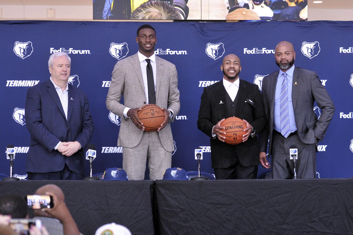 de9ddb81b72 What the 2018 NBA Draft means in Memphis - Grizzly Bear Blues