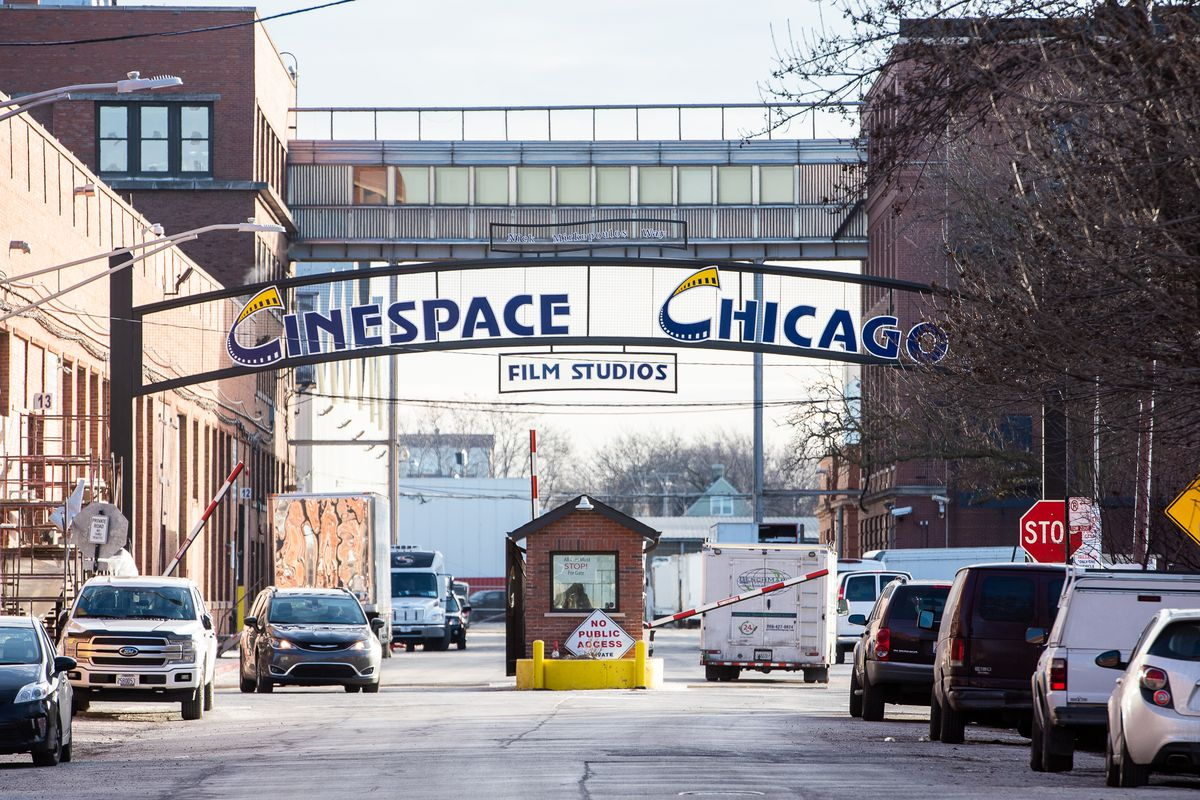 Cinespace Chicago Film Studios at 2621 West 15th Place.