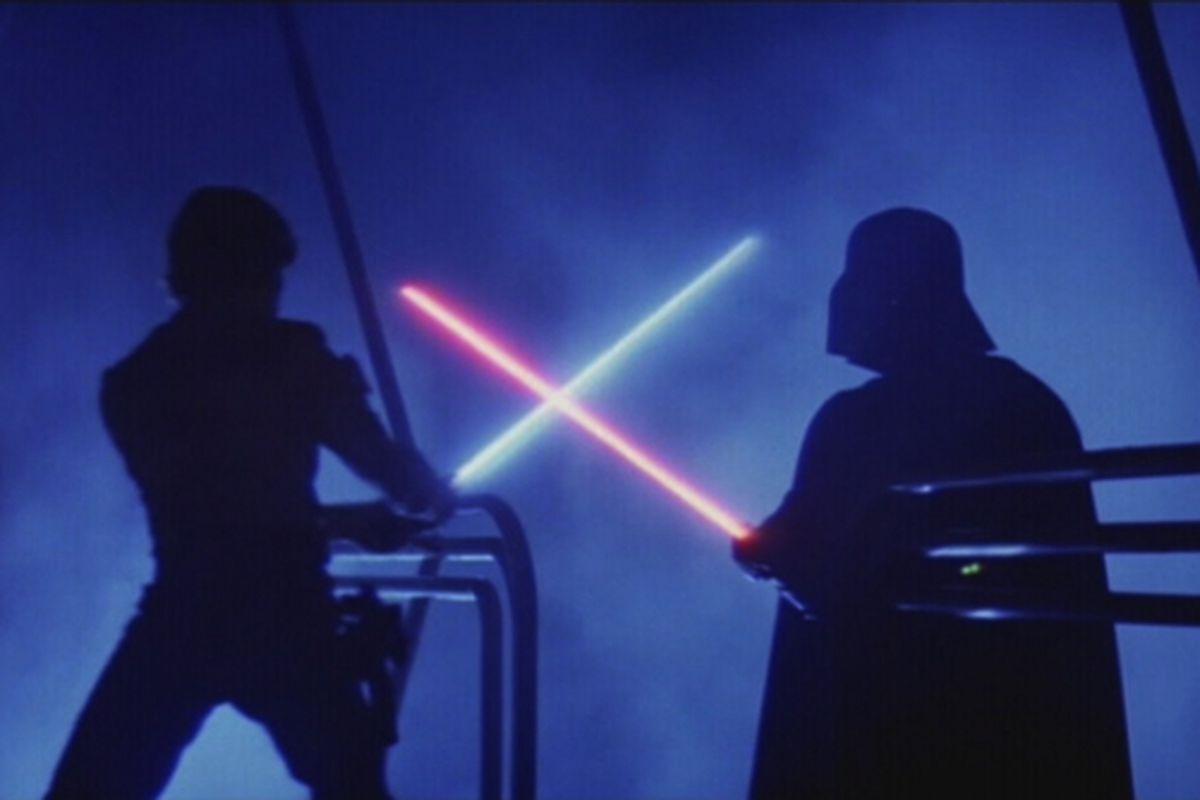 Star Wars Light Saber fight