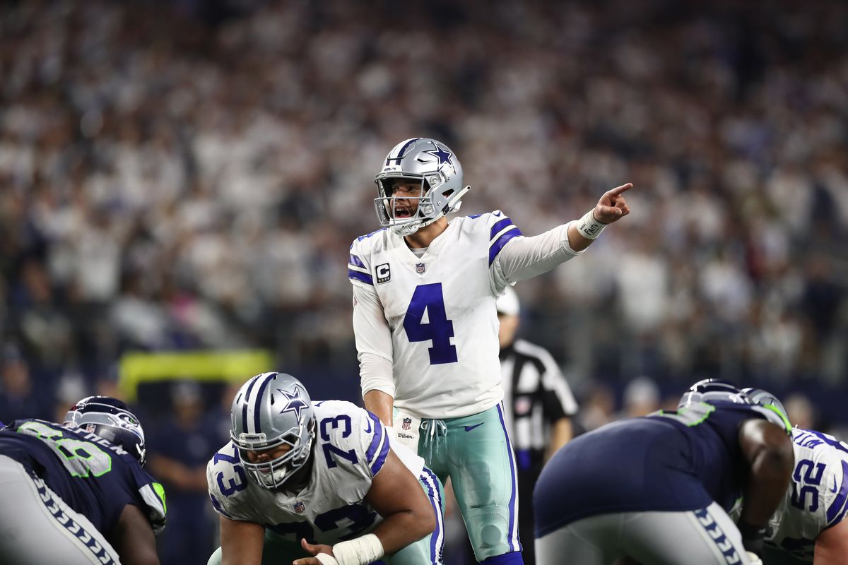 514b2a6bfce589 Dak Prescott can be a Cowboys playoff legend just by staying the NFL's most  clutch QB