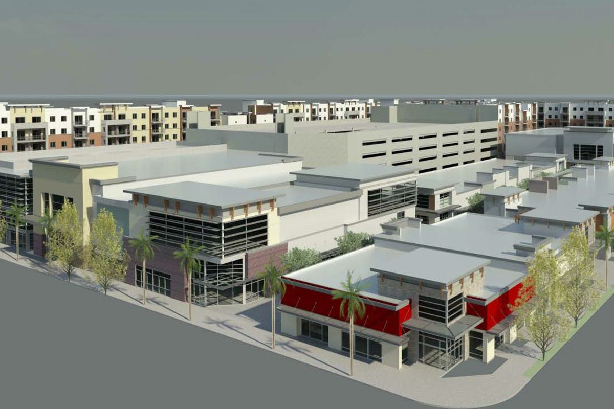 new renderings of panorama city u0027s giant icon retail housing